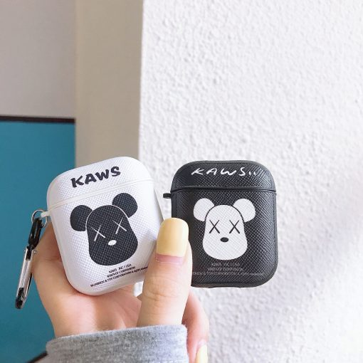 KAWS '2nd Wave' TPU | Plastic AirPods Case Shock Proof Cover
