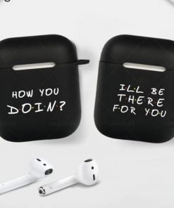 Friends Silicone AirPods Case Shock Proof Cover