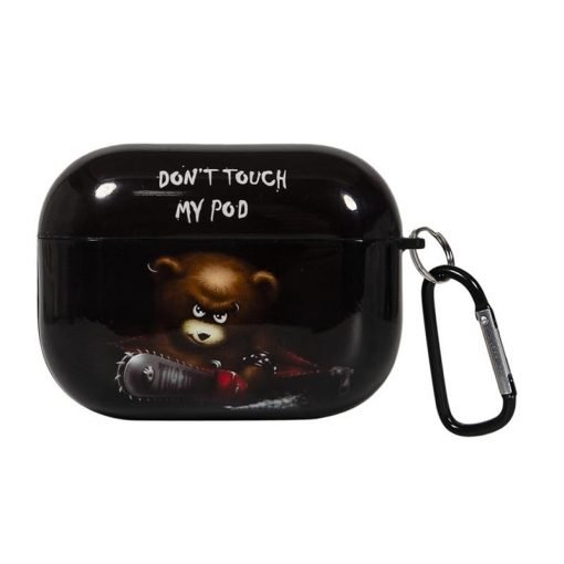 'Don't Touch My Pods' AirPods Pro Case Shock Proof Cover