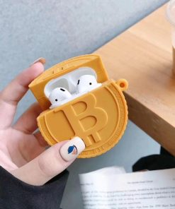 Bitcoin Premium AirPods Case Shock Proof Cover