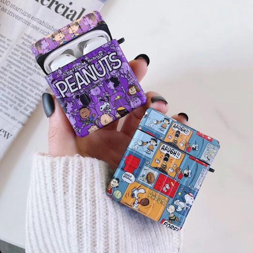 Peanuts Comic AirPods Case Shock Proof Cover