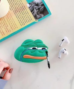 Crying Pepe the Frog Premium AirPods Pro Case Shock Proof Cover