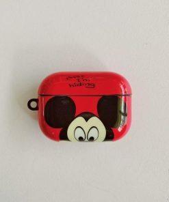 Disney 'Mickey   Peekaboo' AirPods Pro Case Shock Proof Cover
