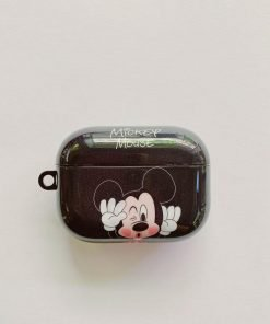 Disney 'Mickey   Winking Kiss' AirPods Pro Case Shock Proof Cover