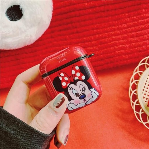 Disney 'Minnie | Winking Kiss' AirPods Case Shock Proof Cover