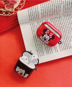 Disney 'Mickey | Winking Kiss' AirPods Case Shock Proof Cover