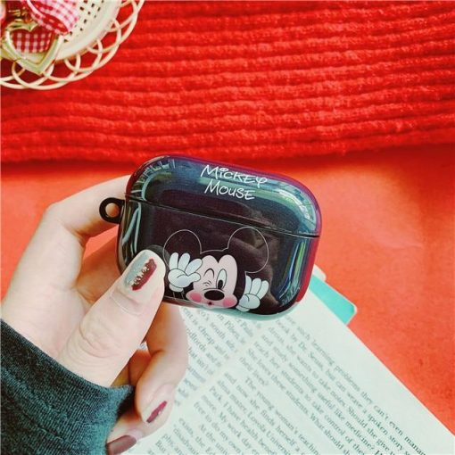 Disney 'Mickey | Winking Kiss' AirPods Pro Case Shock Proof Cover