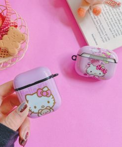 Hello Kitty 'Teddy' AirPods Case Shock Proof Cover