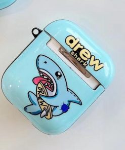 Drew 'Shark' AirPods Case Shock Proof Cover