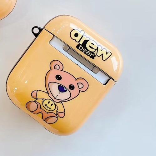 Drew 'Teddy' AirPods Case Shock Proof Cover