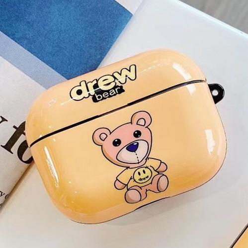 Drew 'Teddy' AirPods Pro Case Shock Proof Cover