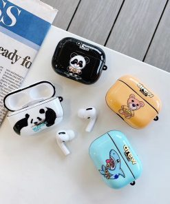 Drew 'Panda   Wake Up' AirPods Pro Case Shock Proof Cover