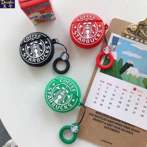 Starbucks Logo 'Round' Premium AirPods Case Shock Proof Cover