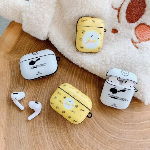 Pokemon 'Thunder Project' AirPods Pro Case Shock Proof Cover