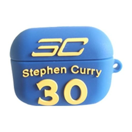 Basketball 'Embossed Player and Logo' Silicone AirPods Pro Case Shock Proof Cover