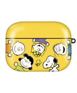 Charlie Brown 'The Gang in Yellow' AirPods Pro Case Shock Proof Cover
