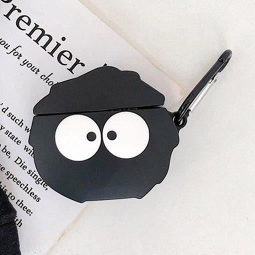 Totoro 'Susuwatari' Premium AirPods Case Shock Proof Cover