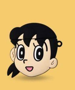 Doraemon 'Shizuka Minamoto' Premium AirPods Case Shock Proof Cover