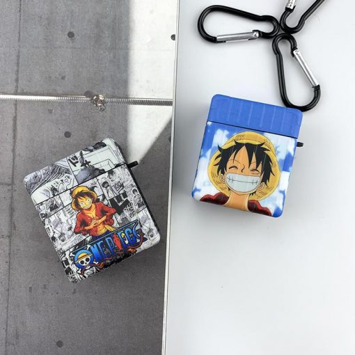 One Piece 'Luffy | Zoro | Modular' AirPods Case Shock Proof Cover