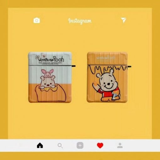 Winnie the Pooh 'Poo | Piglet | Modular' AirPods Case Shock Proof Cover