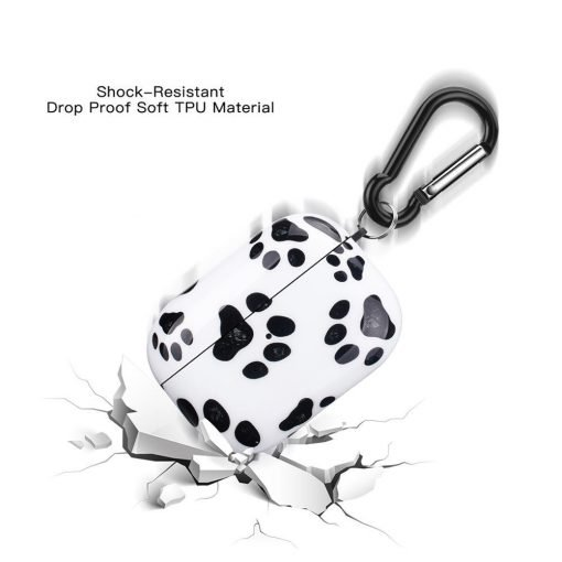 Cute Paw Print AirPods Pro Case Shock Proof Cover