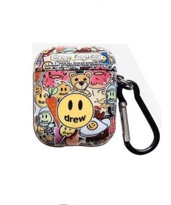 Drew 'Smiley Face' AirPods Case Shock Proof Cover