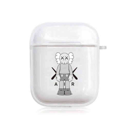 KAWS Clear Acrylic AirPods Case Shock Proof Cover