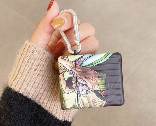 One Piece 'Zoro and Luffy' AirPods Case Shock Proof Cover