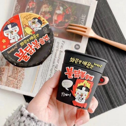 Samyang Instant Noodles Premium AirPods Case Shock Proof Cover