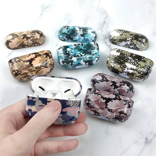 Camouflage 'TPU | Plastic' AirPods Pro Case Shock Proof Cover