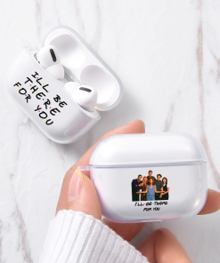 Friends Clear Acrylic AirPods Pro Case Shock Proof Cover