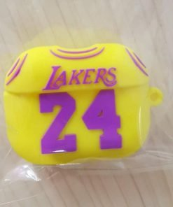 Basketball Lakers No. 24 Jersey AirPods Pro Case Shock Proof Cover