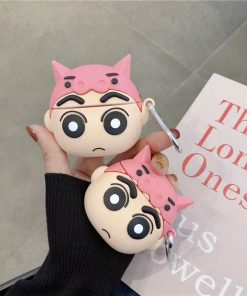 Crayon Shin Chan 'Pig Hat' Premium AirPods Case Shock Proof Cover