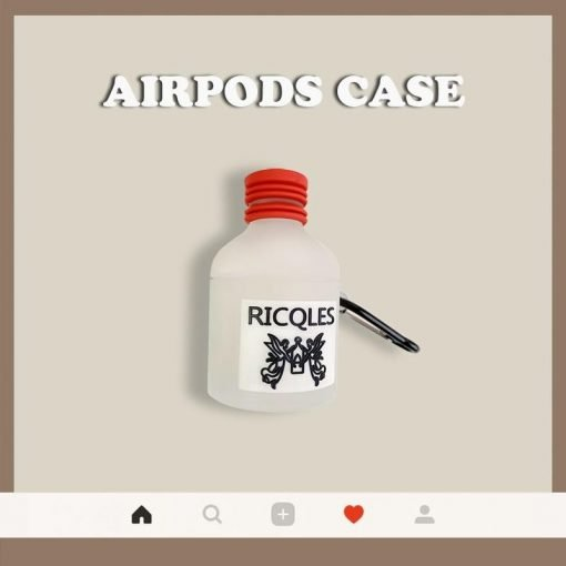 Ricqles Peppermint Cure Premium AirPods Case Shock Proof Cover