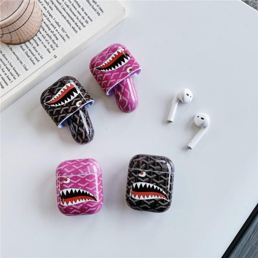 Bathing Ape 'Shark' AirPods Case Shock Proof Cover