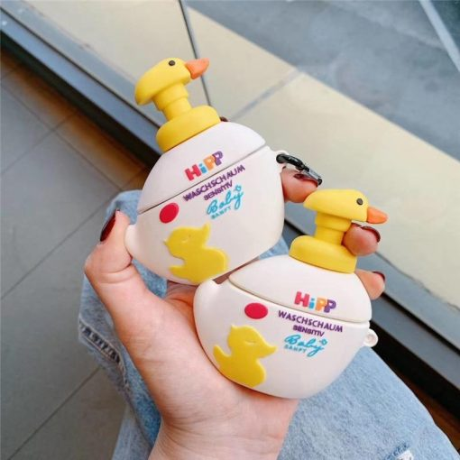 Duck Soft Soap Premium AirPods Case Shock Proof Cover