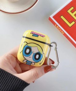 Powerpuff Girls AirPods Case Shock Proof Cover