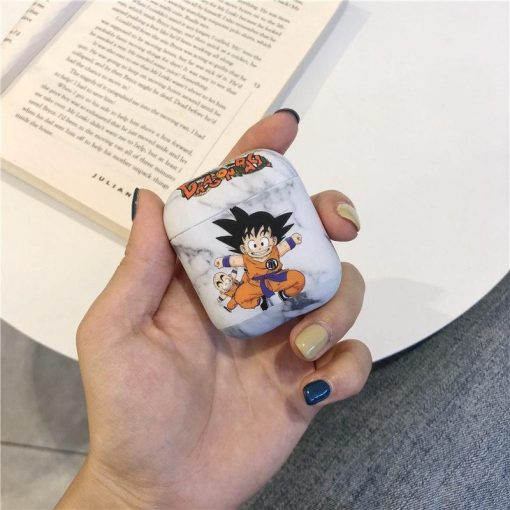 Son Goku 'Marble' AirPods Case Shock Proof Cover