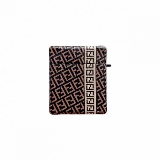 Brown Luxury Pattern 'Modular' AirPods Case Shock Proof Cover