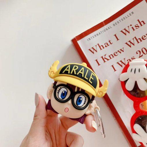Arale Norimaki 'Yellow Hat' Premium AirPods Case Shock Proof Cover