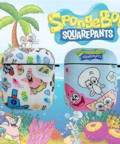 Spongebob 'The Crew' AirPods Case Shock Proof Cover
