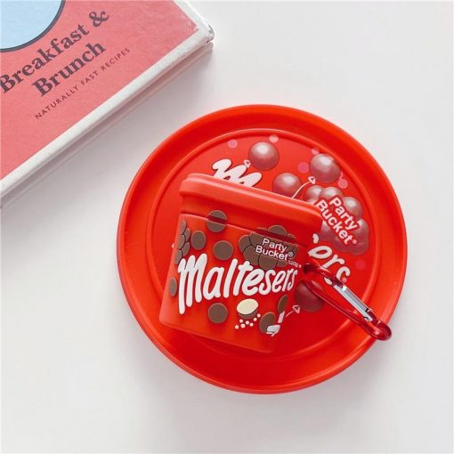 Maltesers Chocolate Premium AirPods Case Shock Proof Cover