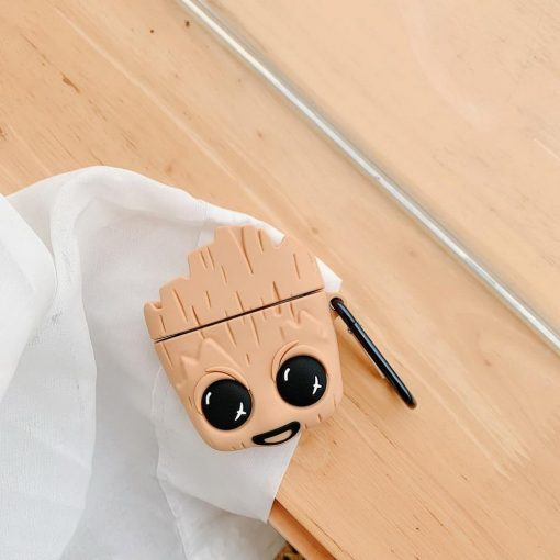 Baby Groot 'Excited' Premium AirPods Case Shock Proof Cover