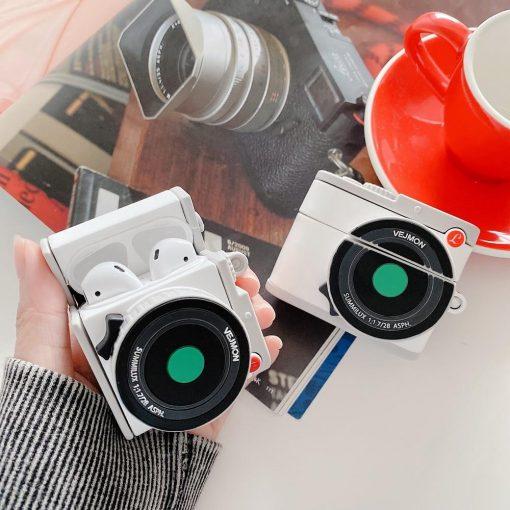 DSLR Camera Premium AirPods Case Shock Proof Cover