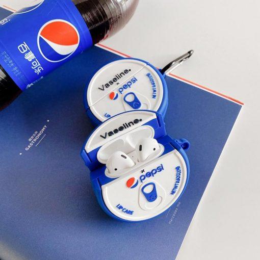 Vaseline Pepsi Premium AirPods Case Shock Proof Cover