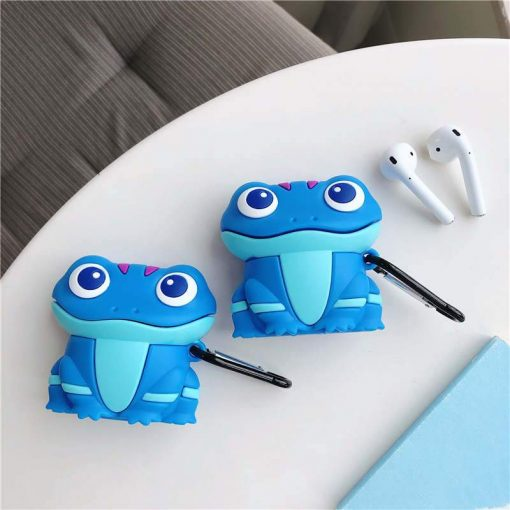 Happy Blue Lizard Premium AirPods Case Shock Proof Cover