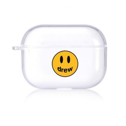 Drew Clear Acrylic AirPods Pro Case Shock Proof Cover