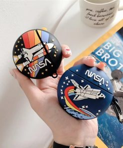 NASA Shuttle 'Rounded' AirPods Pro Case Shock Proof Cover