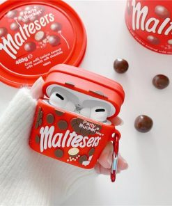 Maltesers Chocolate Premium AirPods Pro Case Shock Proof Cover
