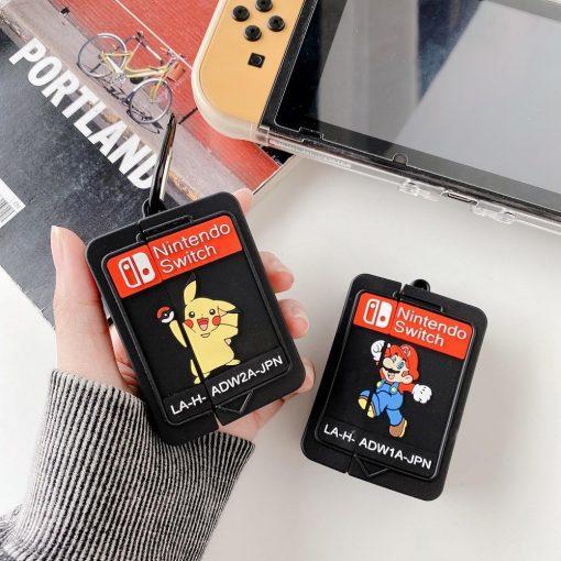 Nintendo Switch Cartridge Premium AirPods Pro Case Shock Proof Cover